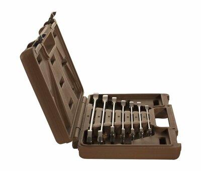 Набор ключей гаечных комбинированных трещоточных SNAP GEAR, 8-19 мм, 7 предметов 19629