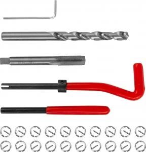 TRIS810 Набор для восстановления резьбы M8x1.0, 25 предметов