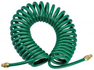 Шланг спиральный для пневмоинструмента, 8 мм х 12 мм х 8 м JONNESWAY