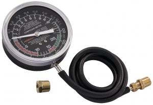 Универсальный прибор для измерения давления топливной магистрали. Вакуумметр JONNESWAY